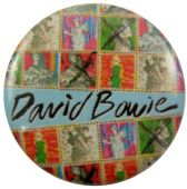 David Bowie - 'Ashes to Ashes' Button Badge